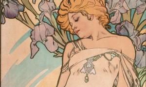 Alphonse Mucha Les Fleurs