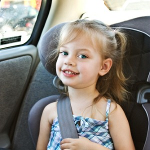 Child in carseat