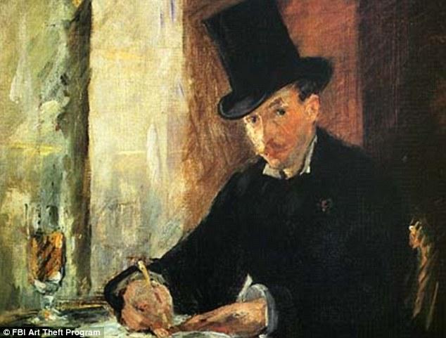 Manet painting of man